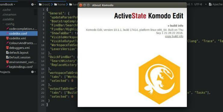 IDE Komodo-10-1 là phiên bản được nhiều người ưa chuộng