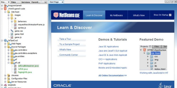 IDE NetBeans được đánh giá rất cao về tính tiện ích