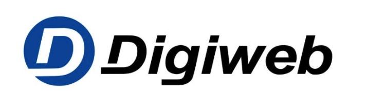 Thiết kế website giới thiệu của Digiweb