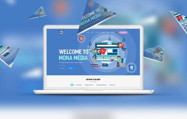 Công ty thiết kế website số 1 Việt Nam Mona Media