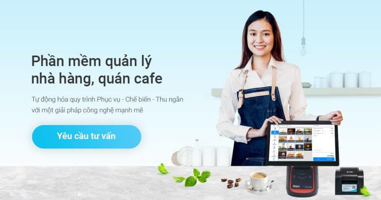 Phần mềm quản lý nhà hàng chuyên nghiệp SAPO