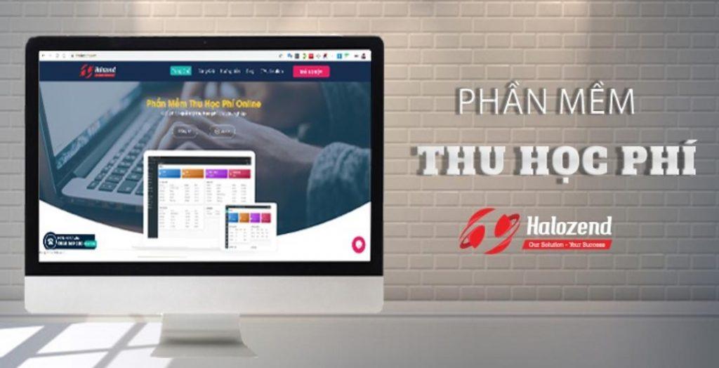 Phần mềm thu tiền học sinh Halozend HTFM