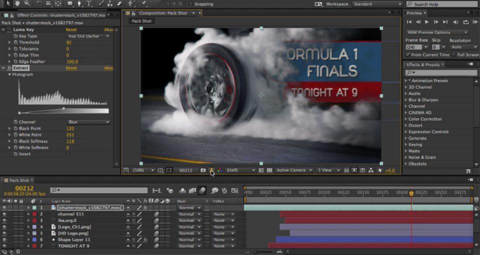 Phần mềm đồ họa chuyển động Adobe After Effect