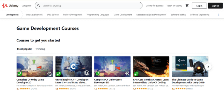 nền tảng e-learning udemy