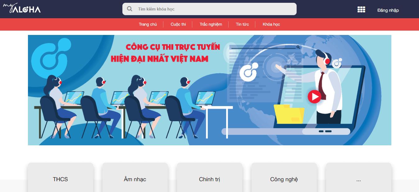 Viết website học trực tuyến cần đầy đủ tính năng