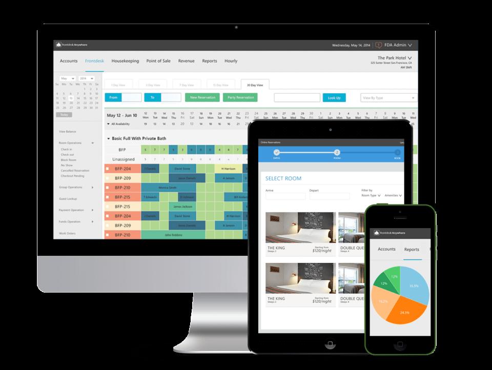 Phần mềm quản lý đặt phòng khách sạn FrontDesk