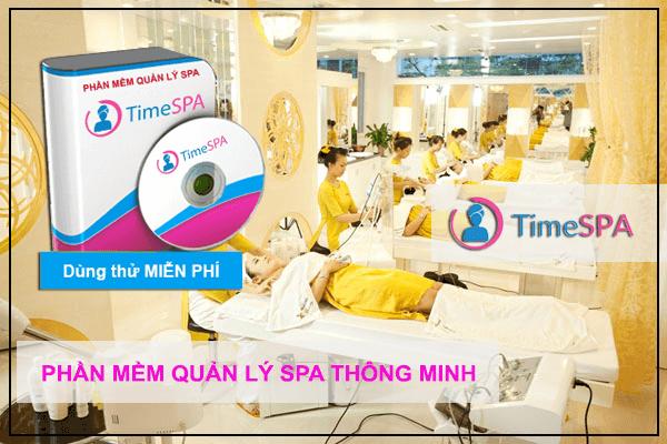 phần mềm quản lý spa Time Spa