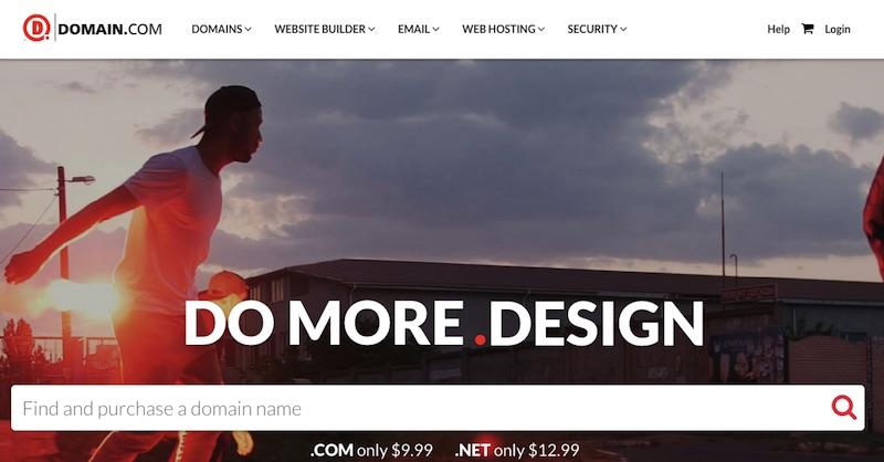 Domain.com - nhà cung cấp tên miền hosting uy tín
