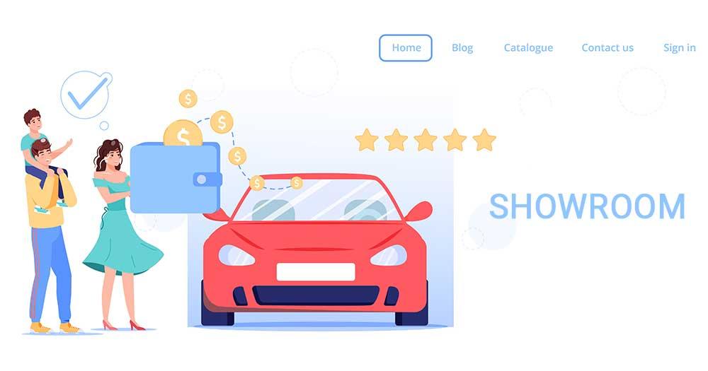 Giới thiệu Website Showroom