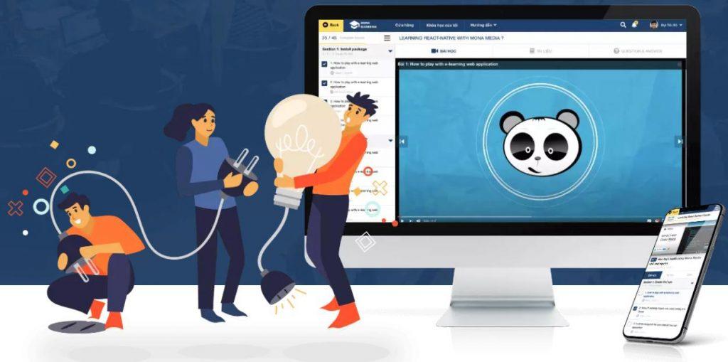Phần mềm quản lý lớp học Mona eLMS