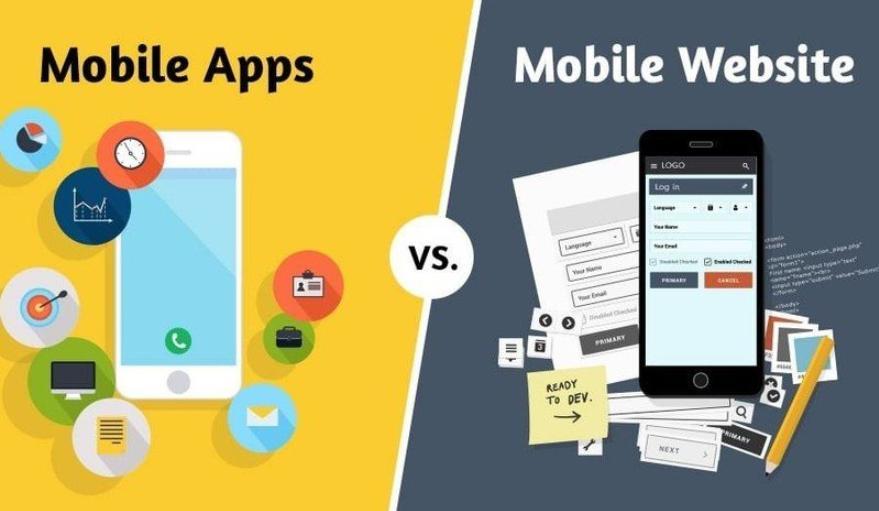 thiết kế web app - lập trình app mobile