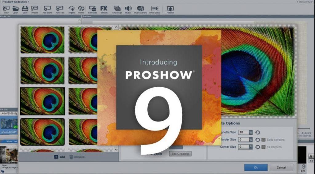 Phần mềm làm video Proshow Gold