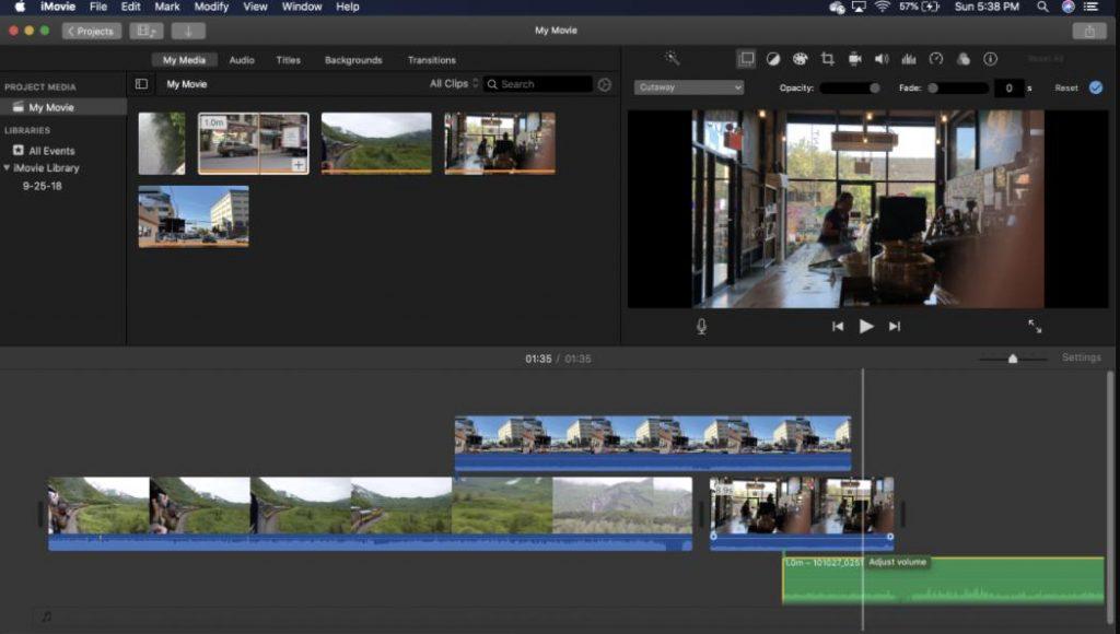 iMovie: Ứng dụng phần mềm chỉnh sửa video chuyên nghiệp