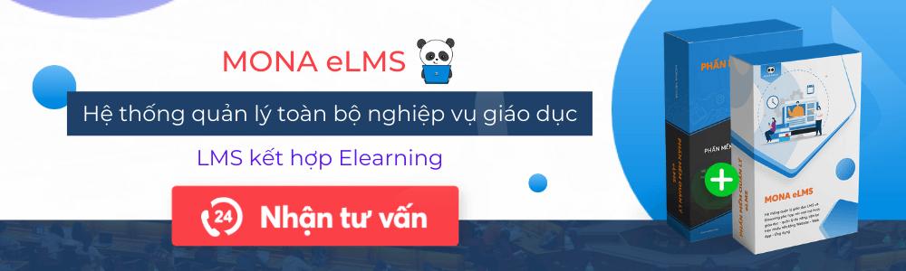 Hệ thống quản lý học tập đa chức năng Mona eLMS