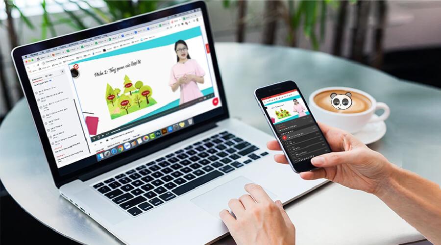 Hệ thống học trực tuyến cho người đi làm Edumall.vn