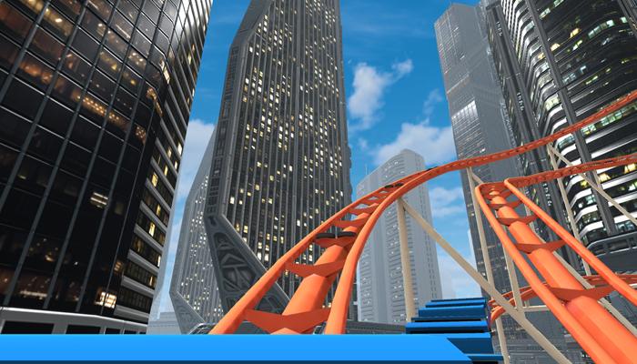 phần mềm xem kinh thực tế ảo - VR Roller Coaster