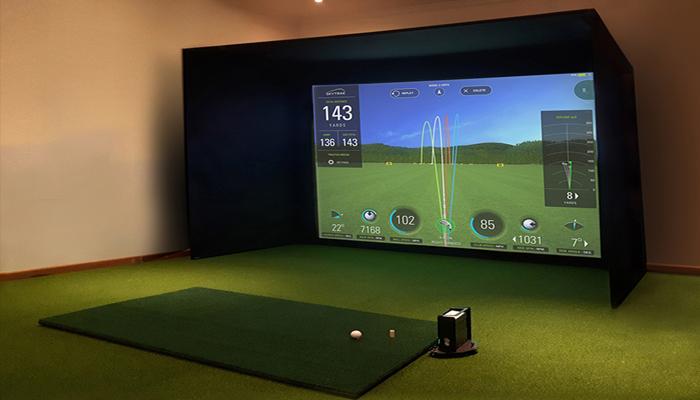 Phần mềm giả lập đánh golf - SkyTrack