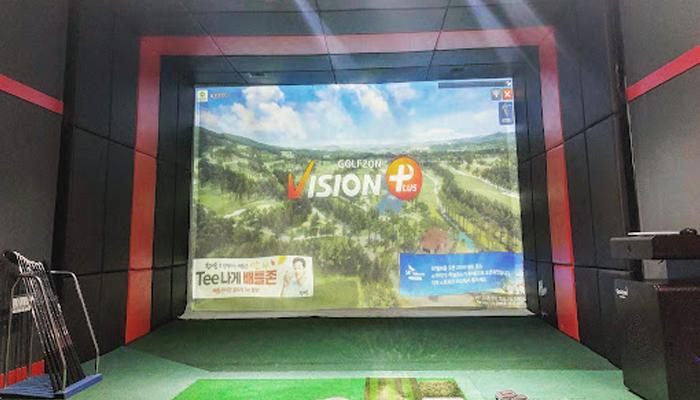Phần mềm màn hình golf 3D - Vision