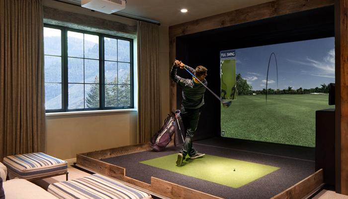 Tiện ích của Golf màn hình đối với các golfer